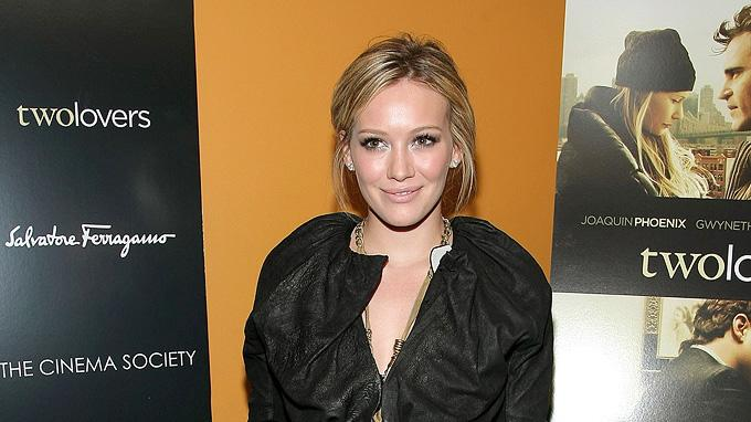 Two Lovers NY Screening 2009 Hilary Duff