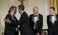 Led Zeppelin Receive Kennedy Award From Obama
