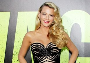 Blake Lively stuns in a gorgeous nude and black Zuhair Murad Couture gown
