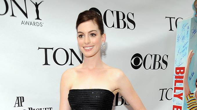 Hathaway Anne Tony Awards