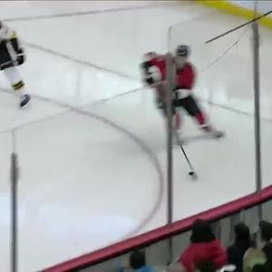 Jason Spezza buries slap-pass from Karlsson