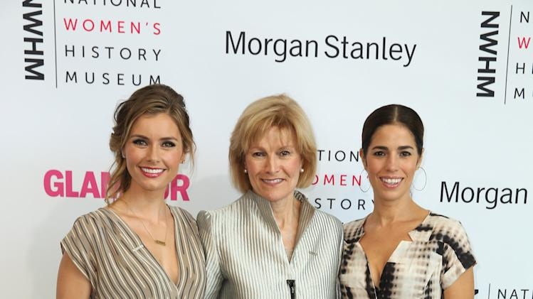 Brianna Brown, Joan Wages and Ana Ortiz seen at the 3rd Annual Women Making History Brunch presented by the National Women's History Museum and Glamour Magazine at the Skirball Cultural Center on Saturday, August 23, 2014, in Los Angeles, Calif. (Photo by Matt Sayles/Invision for National Women's History Museum/AP Images)