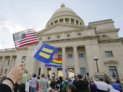 Arkansas governor urges changes to religious objection bill