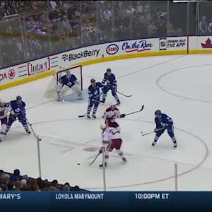 Jonathan Bernier Save on Oliver Ekman-Larsson (12:25/2nd)