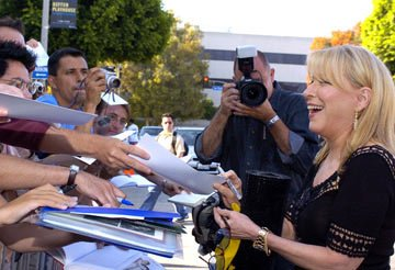 Premiere: Bette Midler meets fans at the Los Angeles premiere of Paramount's The Stepford Wives - 6/6/2004