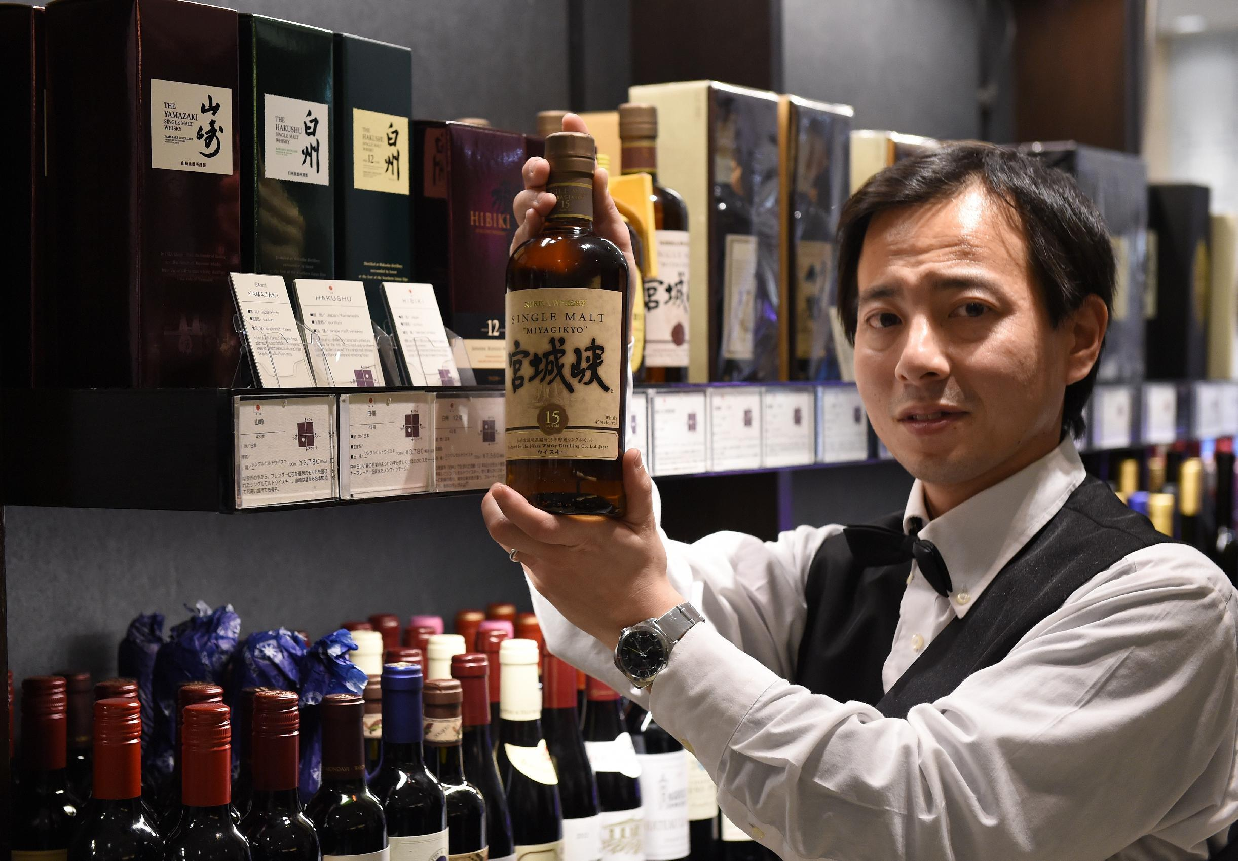 TV drama, plaudits: a cocktail of success for Japan whisky
