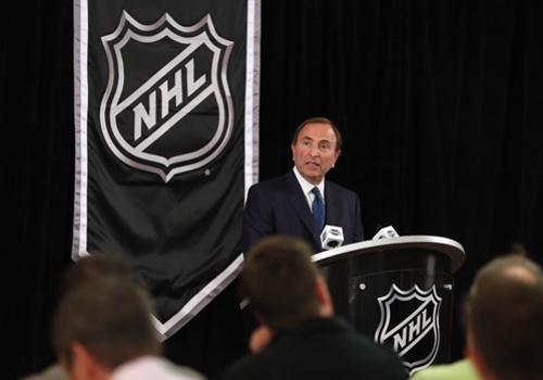 Gary Bettman Getty Images