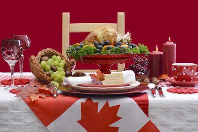 Today is Canadian Thanksgiving, and, yes, it's pretty much a rip-off of American Thanksgiving