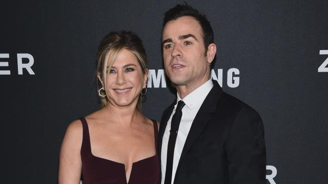 EXCLUSIVE: Justin Theroux Adorably Says He's 'Wearing Out' His Credit Card for Jennifer Aniston's B-Day