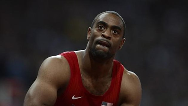 Tyson Gay of the US (Reuters)
