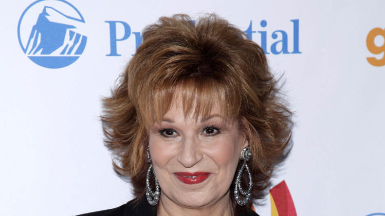 FILE - In this March 13, 2010 file photo, TV personality Joy Behar attends the 21st annual GLAAD Media Awards in New York. Current TV says Joy Behar will soon be joining the network to host a prime-time talk show. Behar, whose nightly program on cable channel HLN ended last December, will return with a show on Current in September, the network announced Monday. It will originate Monday through Thursday at 6 p.m. Eastern time. (AP Photo/Peter Kramer, file)