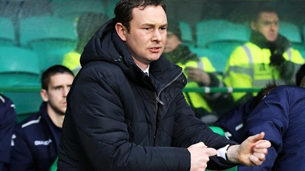 Derek Adams, pictured, has been delighted by the impact of Ivan Sproule