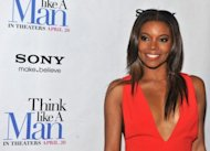 Gabrielle Union attends the &quot;Think Like a Man&quot; screening on April 4 in New York City. The romantic comedy &quot;Think Like A Man&quot; topped the North American box office for the second weekend in a row, industry figures showed Monday