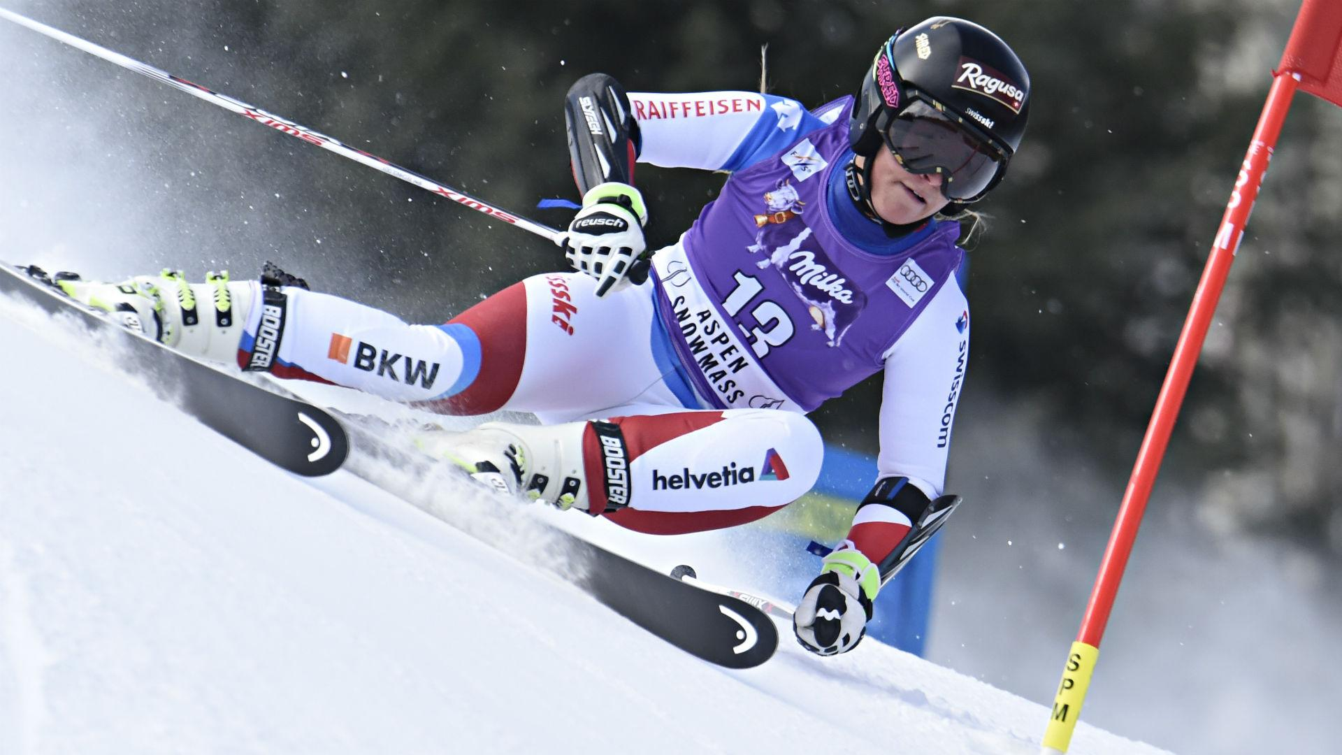 Lucky 13 for Gut as Shiffrin and Vonn tumble in Aspen