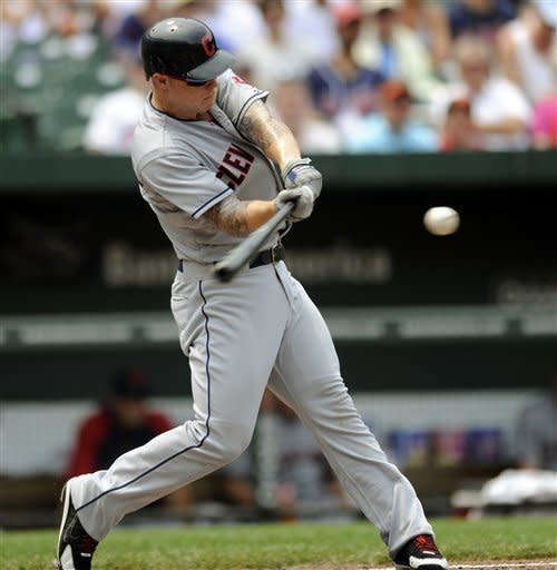 Indians beat Orioles 6-2 behind Masterson