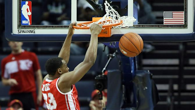 NCAA Basketball: American Athletic Conference Tournament-Louisville vs Houston