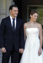 Owain Yeoman, Amanda Righetti | Photo Credits: Sonja Flemming/CBS