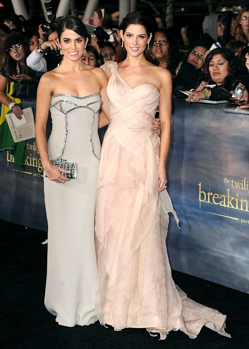 "We'll get to RPattz and KStew in a second ... but first, feast your eyes on the gorgeousness Nikki Reed and Ashley Greene released at the highly anticipated premiere of ""The Twilight Saga: Breaking Da"