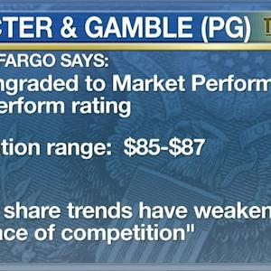New Coverage for Sterling, Revisions for Proctor & Gamble