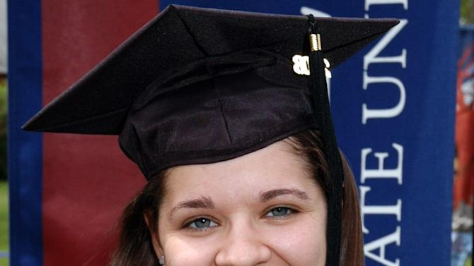 """VICTORIA SOTO, 27, teacher: Though details of the 27-year-old teacher's death remained fuzzy, her name has been invoked again and again as a portrait of selflessness and humanity among unfathomable evil. Those who knew her said they weren't surprised by reports she shielded her first-graders from danger. """"She put those children first. That's all she ever talked about,"""" said a friend, Andrea Crowell. """"She wanted to do her best for them, to teach them something new every day."""" (AP Photo/Eastern Connecticut University)"""