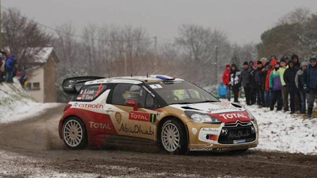 Sebastien Loeb on the Monte (Imago)