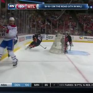 Clayton Stoner Hit on Alex Galchenyuk (03:49/1st)