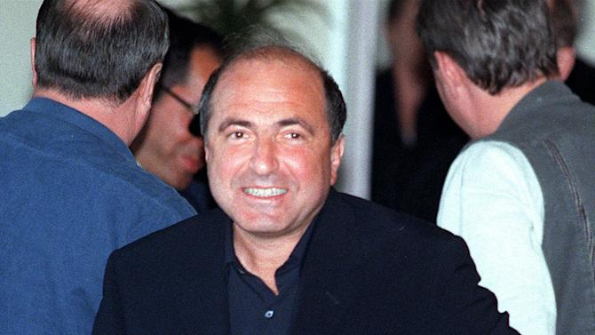 FILE - A Sunday, April 18, 1999 photo from files showing Boris Berezovsky as he arrives at Moscow's Sheremetiyevo-I international airport. United Kingdom police have said that Berezovsky has been found dead Saturday March 23, 2013.(AP Photo/Mikhail Metzel, File)