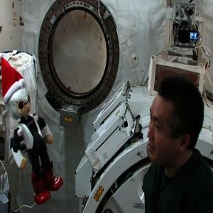 First Talking Astronaut Robot on Board ISS