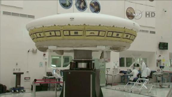 NASA's 'Flying Saucer' Takes a Spin Ahead of June Flight Test