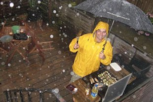 What to do when your BBQ gets rained off