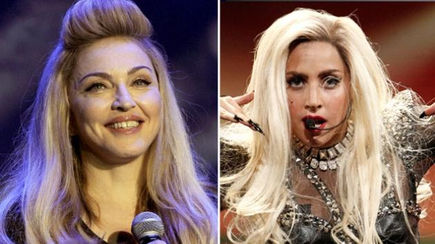 Madonna / Lady Gaga -- Getty Images