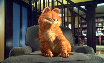 The famed fat cat gets his own movie in 20th Century Fox's Garfield