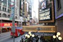 FILE - This May 12, 2011 file photo shows the marquee for &quot;Spider-Man: Turn Off The Dark&quot; outside the Foxwoods Theatre in New York. Ambassador Theatre Group said Monday, May 20, 2013, it has acquired The Foxwoods Theatre, the current home of Spider-Man: Turn Off the Dark. The theater has about 2,000 seats. (AP Photo/Tina Fineberg, file)