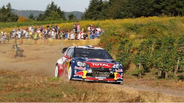 Loeb extends lead, Hirvonen struggles in Germany