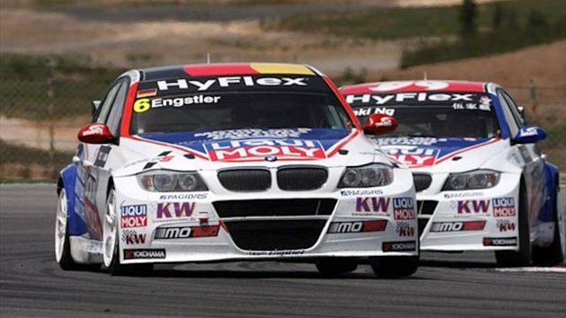 Franz Engstler and Hong Kong racer Charles Ng Ka Ki will team up again at the wheel of the squad's two BMW 320 TC cars