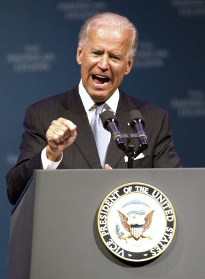 Vice President Joe Biden speaks during The American …