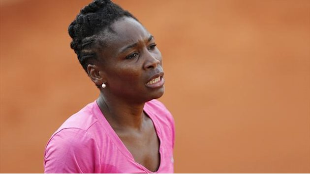 Wimbledon - Venus Williams withdraws with back injury