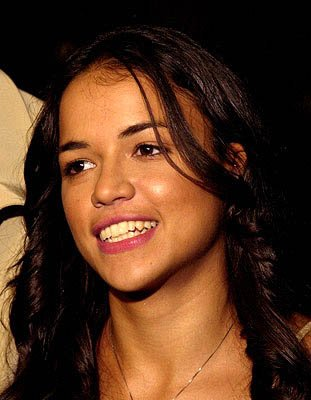 Michelle Rodriguez at the LA premiere of Screen Gems' Resident Evil