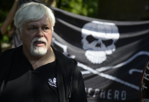 <p>Interpol said Wednesday it had issued an international Red Notice for the arrest of Paul Watson, pictured in May, the founder of marine conservation group Sea Shepherd, after he failed to meet bail conditions in Germany</p>