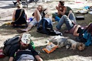 &lt;p&gt;Occupy Wall Street protestors gather in Foley Square on September 16, 2012 in New York City. The Occupy Wall Street movement has seen a renewal in action recently, as they build-up to celebrate the one year anniversary of their gathering on September 17, 2011.&lt;/p&gt;