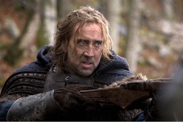 Nicolas Cage Season of the Witch Production Stills Relativity 2011