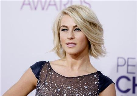 Actress Julianne Hough arrives at the 2013 People's Choice Awards in Los Angeles, January 9, 2013. REUTERS/Danny Moloshok