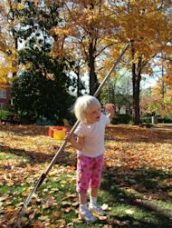 "A lot of ""chores"" you give your child may actually seem fun to them!"