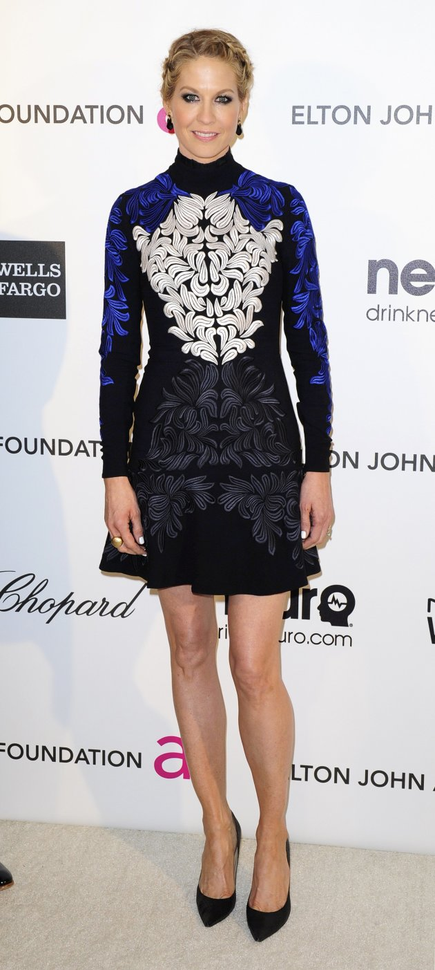 Actress Elfman arrives at the 2013 Elton John AIDS Foundation Oscar Party in West Hollywood