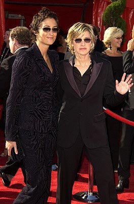Alexandra Hedison, Ellen DeGeneres 55th Annual Emmy Awards - 9/21/2003
