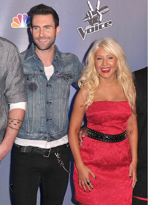 Shelton Levine Aguilera Cee Lo The Voice Phtcll