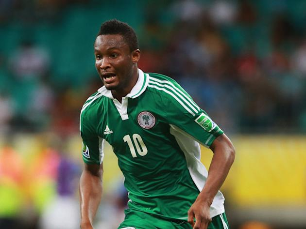 Mikel withdraws with illness