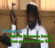 A YouTube picture from January said to show Boko Haram leader Abubakar Shekau. Nigeria's government and Islamist group Boko Haram have been in indirect talks seeking to end deadly violence blamed on the extremists, two sources familiar with the discussions told AFP on Friday