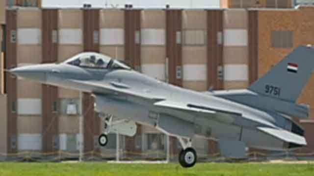 Egypt in chaos ... and our F-16s are on the way