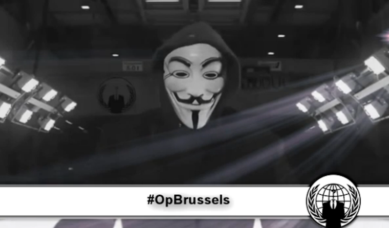 Anonymous Threatens ISIS Again Following Brussels Terror Attacks
